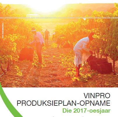 Vinpro Produksieplan: 2017-oesjaar