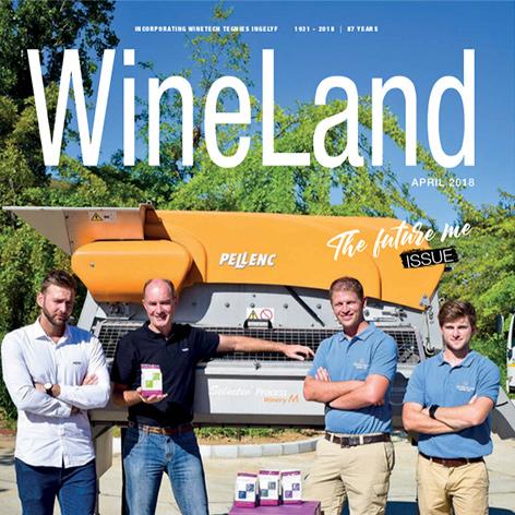Wineland Magazine April 2018