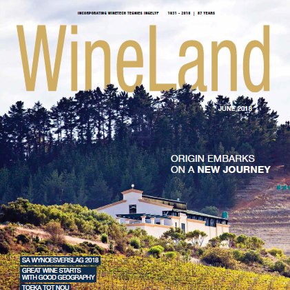 WineLand Magazine June 2018