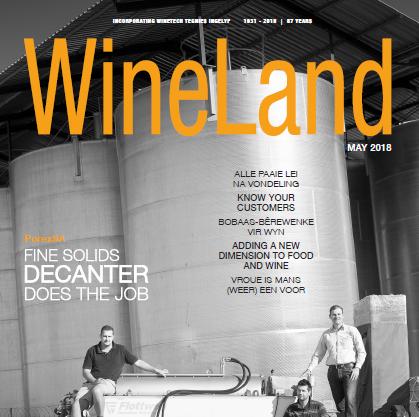 WineLand Magazine May 2018