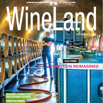 WineLand magazine September 2018