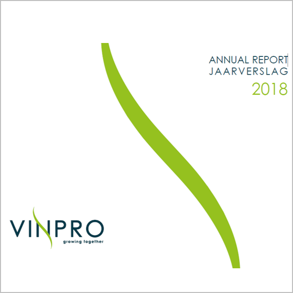 Adapt, nurture, grow – Vinpro Jaarverslag / Annual Report 2018